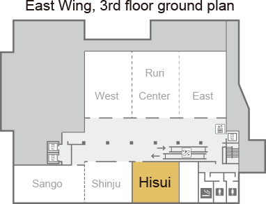 [East Wing, 3rd floor ground plan] Hisui.