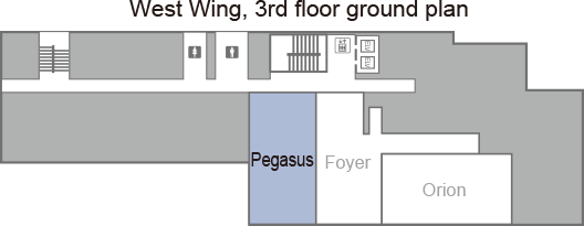 [West Wing, 3rd floor ground plan] Pegasus.