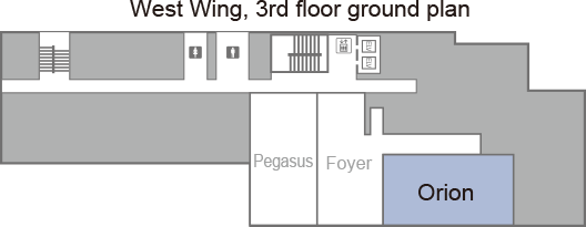 [West Wing, 3rd floor ground plan] Orion.